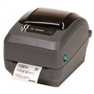 Zebra GX420T 300DPI Thermal Transfer Label Printer - WiFI Serial USB