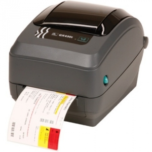 Zebra GX430T 300DPI Thermal Transfer Label Printer - Parallel Serial USB