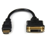 StarTech 20cm HDMI Male to DVI-D Video Female Adapter