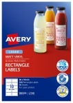 Avery L7148 White Laser 96 x 51mm Rectangle Permanent Durable Labels – 100 Pack