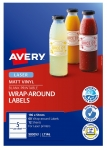 Avery L7146 White Laser 196 x 51mm Permanent Durable Wraparound Labels – 60 Pack
