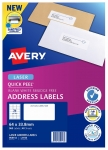Avery L7159 White Laser 64 x 33.8mm Permanent Quick Peel Address Labels with Sure Feed – 960 Pack