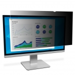 3M PF23.0W9 16:9 Widescreen Black Privacy Screen Filter for 23 Inch Monitors