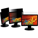 3M PF24.0W9 16:9 Widescreen Frameless Black Privacy Screen for 24 Inch Monitors