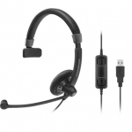 Sennheiser Circle SC 230 MS II USB Overhead Wired Mono Headset - Optimised for Microsoft Business Applications
