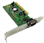 PCI Single Port Serial Card Incorporating FIFO UART Incorporates 1 x DB9 Male Port
