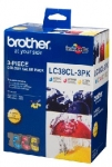 Brother LC38CL3PK Ink Cartridge Value Pack - Cyan, Magenta, Yellow