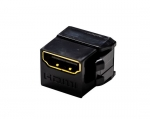 Dynamix HDMI Gold Plated Mini Coupler - Black