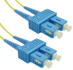 Dynamix Single Mode 20M SC to SC Fibre Patch Lead. 9micron OS1