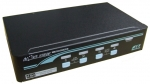 PS/2 Desktop & Rackmount KVM Switch - 4 PC PS/2 BLACK