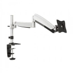 Brateck Counterbalance Single Desk Mount Bracket for 13-27 Inch Flat Panel TVs or Monitors - Up to 9kg