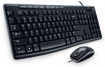 Logitech MK200 Desktop Kit, USB Keyboard & Mouse