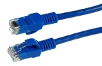 Dynamix 1M CCA Patch Lead, Cat 5E, Blue Colour, T568A Specification
