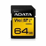 ADATA Premier One 64GB Class 10 UHS-3 V90 SDXC Memory Card