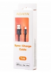 ADATA 1m  USB-A to Lightning Connection Cable - Black