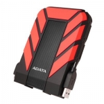 Adata HD710P Durable 2TB USB 3.1 External Hard Drive - Red