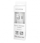 ADATA 1m Lightning to USB Charge & Sync Cable - White