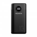 ADATA P10000QCD 10000mAh USB-C Power Bank - Black