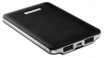 ADATA PV120 5100mAh Dual Port USB Type-A Powerbank - Black