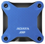 ADATA SD600Q 480GB USB 3.1 Portable External Solid State Drive - Blue