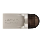 ADATA UC370 32GB USB-C OTG Flash Drive - Gold