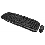 Adesso EasyTouch AKB-133CB USB Wired Multimedia Desktop Keyboard & Mouse Combo