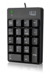 Adesso Spill Resistant 18-Key USB Wired Numeric Keypad