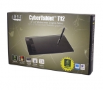 Adesso CyberTablet T12 10 x 6 Inch USB Wired Graphic Tablet