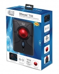 Adesso iMouse T50 Wireless Programmable Ergonomic Trackball Mouse