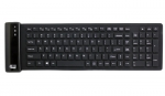 Adesso Waterproof Antimicrobial Wireless Compact Keyboard
