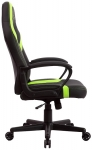 Aerocool ONEX GX1 Leatherette Gaming Office Chair with Cushioned Arm Rests - Black/Green