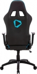 Aerocool ONEX GX2 Leatherette Gaming Office Chair with Adjustable Head and Back Cushions - Black/Blue