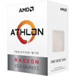 AMD Athlon 3000G Dual-Core 3.50GHz AM4 Unlocked Processor with Vega 3 Radeon Graphics