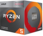 AMD Ryzen 5 3400G Quad-Core 4.2GHz AM4 with Wraith Spire Cooler