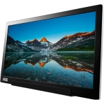 AOC I1601FWUX 15.6 Inch 1920 x 1080 5ms 220nit IPS Portable Monitor - USB-C