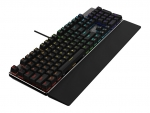 AOC GK500 Mechanical RGB Wired Gaming Keyboard - Black