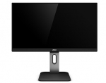 AOC Q27P1 27 Inch 2560 x 1440 5ms 250nit IPS Monitor with Speakers - HDMI DisplayPort DVI VGA