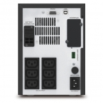 APC Easy UPS SMV 2000VA 1400W 6 Outlet Line Interactive Tower UPS