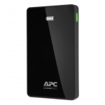 APC Mobile M10BK 10000mAh Dual Port USB Type-A Portable Power Bank - Black