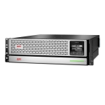 APC Smart-UPS SRT 1500VA 1350W 8 Outlet Double Conversion Online 3RU Rack Mount Lithium Ion UPS