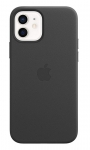 Apple Leather MagSafe Case for iPhone 12 & iPhone 12 Pro - Black