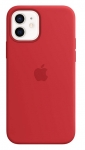 Apple Silicone MagSafe Case for iPhone 12 & iPhone 12 Pro - Red