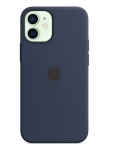 Apple Silicone MagSafe Case for iPhone 12 Mini - Deep Navy