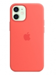 Apple Silicone MagSafe Case for iPhone 12 Mini - Pink Citrus