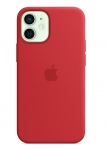 Apple Silicone MagSafe Case for iPhone 12 Mini - Red