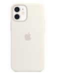Apple Silicone MagSafe Case for iPhone 12 Mini - White
