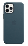 Apple Leather MagSafe Case for iPhone 12 Pro Max - Baltic Blue