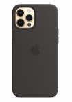 Apple Silicone MagSafe Case for iPhone 12 Pro Max - Black