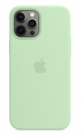 Apple Silicone Case with MagSafe for iPhone 12 Pro Max - Pistachio