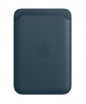 Apple iPhone Leather Wallet with MagSafe - Baltic Blue